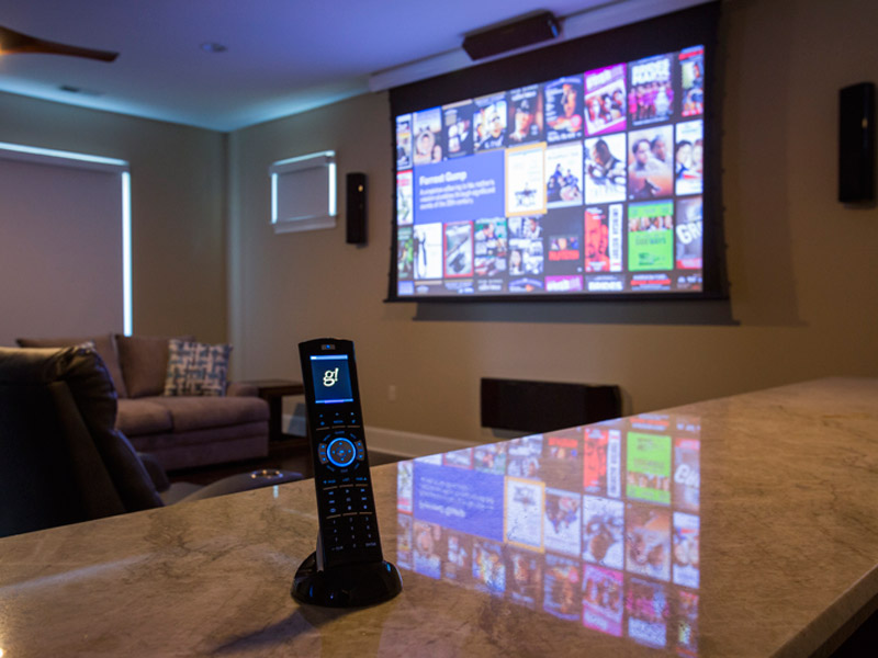 Southern Pines, NC Home Theater/Man Cave