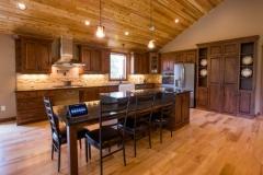 US Marine Cpl Mark Litinski's Kitchen in his new Smart Home.