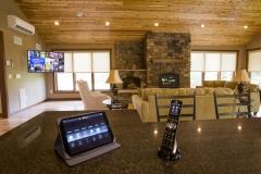 iPad & Elan remote on display.