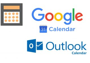 Google and Outlook